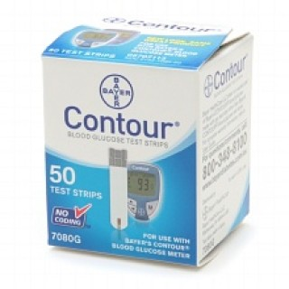 contour test strips