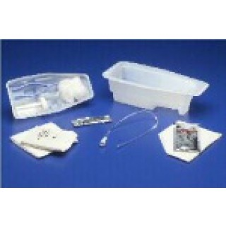 cath tray with catheter