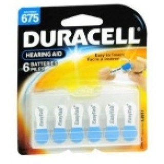 duracell battery for hearing aid