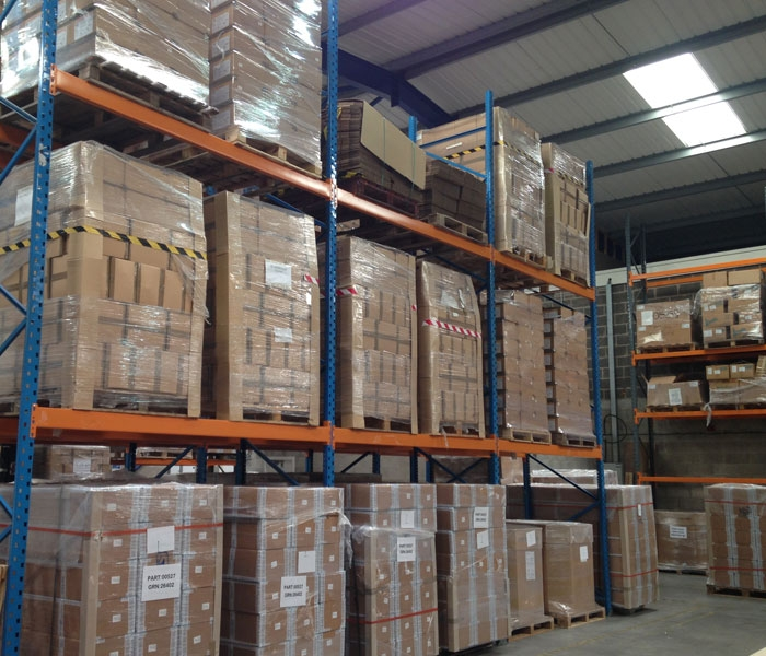 Medical Supply Distribution Warehouse